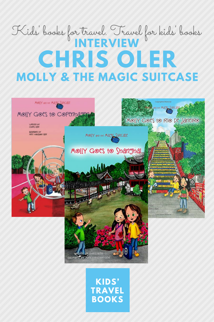 Interview with Chris Oler of the Molly and the Magic Suitcase Series