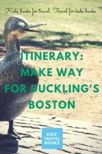 Make Way for Duckling's Boston