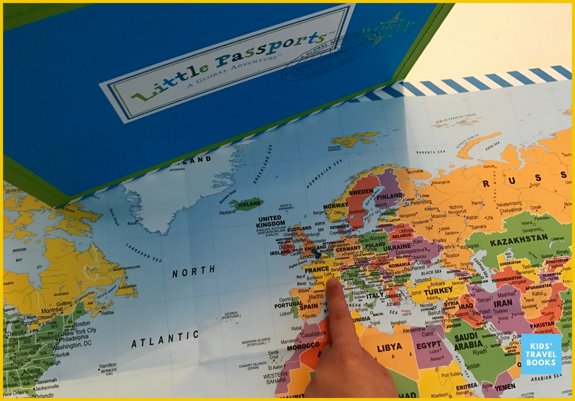 A review of Little Passports France subscription box.