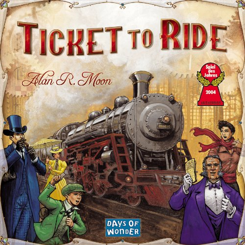 Ticket to Ride: Photo credit Amazon