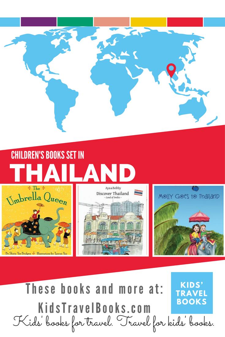 Children's books about Thailand