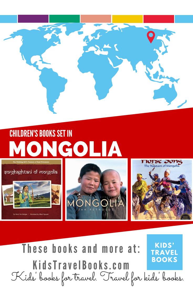 Children's books set in Mongolia